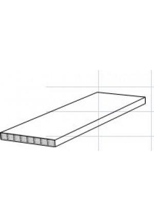 PREMIUM kokybės polikarbonatas GUTTAGLISS DUAL 10 mm septynių sienų, šiluminė varža (u-vertė) 2,3 Watt/m²°K